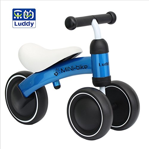 Baby Balance Bike Bicycle Children Walker, Toddler Trike Baby Tricycle 10-24 Months Toddler Riding Walking Toys for 1 Year Old Boys Girls Gift Indoor Outdoor