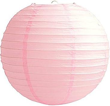 Pack of 6 Paper Lantern Wedding Party Decoration Craft Lamp Shade Matissa 12 Hot Pink 30CM