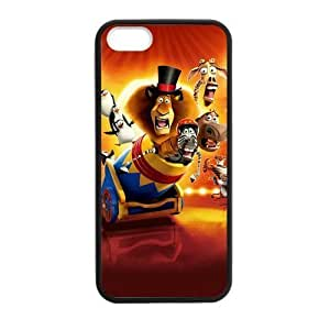 iPhone 5 Case, [Madagascar] iPhone 5,5s Case Custom Durable Case Cover for iPhone5 TPU case(Laser Technology)