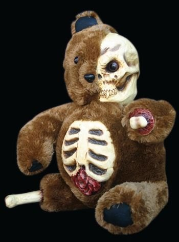 Gory Half Skull Halloween Teddy Bear for $<!--$49.99-->