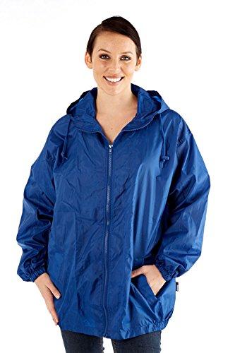 Kagool ProClimate Showerproof Cagoule Kagoule Blue Waterproof Lightweight Ladies IgqwFq