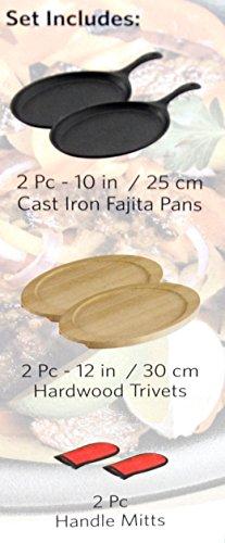 Tramontina 6 Piece Fajita Pan Set by Tramontina (Image #1)