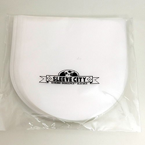 Diskeeper Anti-Static Round Bottom CD, DVD Sleeve (100 -