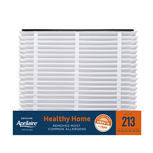 Aprilaire 213 Healthy Home Air Filter for Aprilaire Whole-Home Air Purifiers, MERV 13, for Most Common Allergens (Pack of 1)