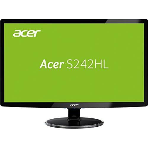 chollos oferta descuentos barato Acer S242HLCBID 60 1 cm 60 96 cm Monitor VGA HDMI Colour negro