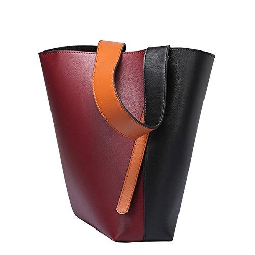 Charol mujer Bolso para hombro Medium Rojo Valin al de wapIBxqvq