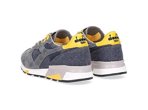 Diadora Heritage, Uomo, Trident 90 Loden Gray, Suede / Lana, Sneakers, Grigio, 44.5 EU