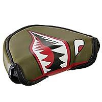 ODYSSEY Golf Fighter Plane Mallet Putter Headcover