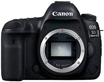 Canon EOS 5D Mark IV Body Only - 30 4MP, DSLR Camera, Black: Amazon