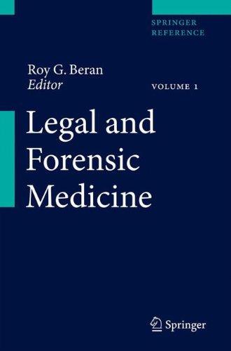 Legal and Forensic Medicine (Springer Reference)