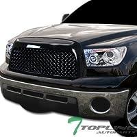 Topline Autopart Black Tr-Sport Mesh Front Hood Bumper...