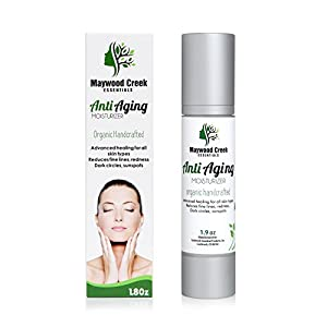 BEST FACE MOISTURIZER - Fragrance Free - Anti Aging Formula Reduces Fine Lines, Redness, Dark Circles & Signs of Aging - Best Quality Organic & Natural Moisturizing Cream
