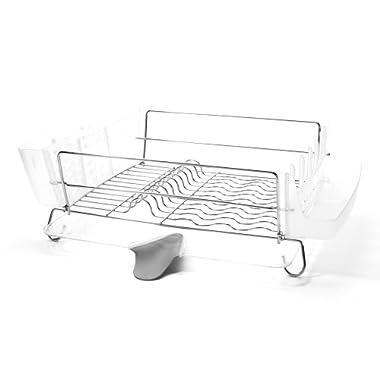 OXO Good Grips Folding Stainless-Steel Dish Rack