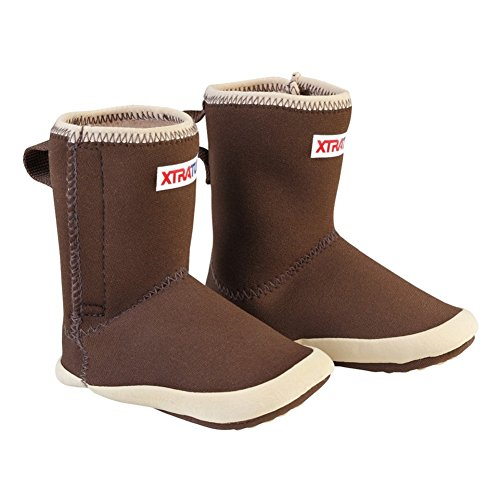 Legacy Neoprene Boot (XTRATUF Legacy Series Kids Baby Booties, Copper & Tan (21192B))
