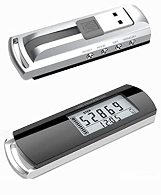 BAIMIL AOCE-53 3D USB Rechargeable Pedometer plug & download Fitness Data Tracker Calories Pedometer Data to PC(software CD included)