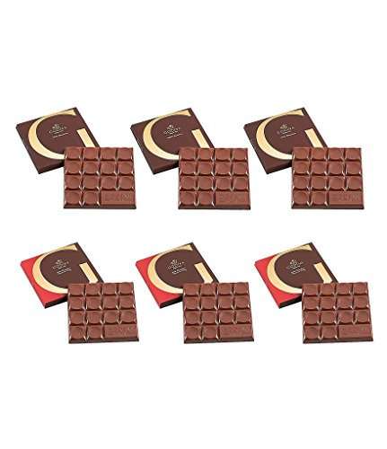 Godiva Chocolatier G Chocolate Bar Tasting Set, Assorted Milk Chocolate