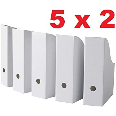 royal-10-white-magazine-file-holders
