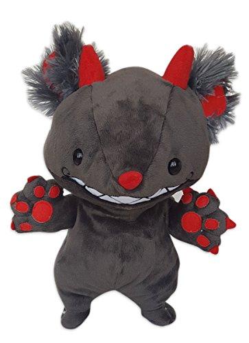 Cuddly Soft 16 inch Stuffed Plush Gray Monster...We Stuff 'em...You Love 'em! (Crazy Vermont Teddy Bear)