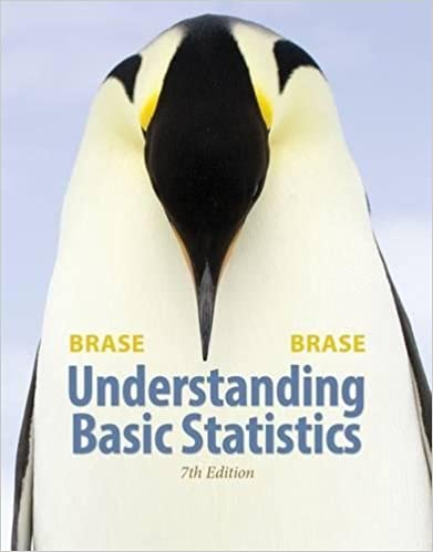 Understanding basic statistics 4th edition brase
