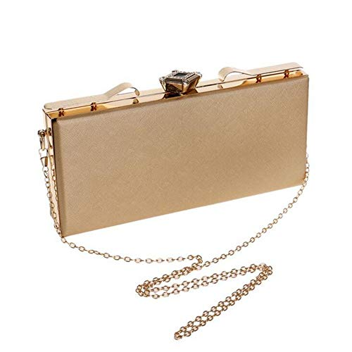 Get Tote Fashion Banquet functional Shoulder Together Party Clutch Bags Bags Square Elegant Gold Multi Bags Womens 8wq1q