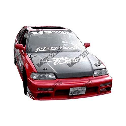 VIS Racing (VIS-KLP-903) OEM Style Hood Carbon Fiber - Compatible for Honda CRX 1988-1991 (1988 1989 1990 1991   88 89 90 91) Crx Oem Carbon Fiber Hood
