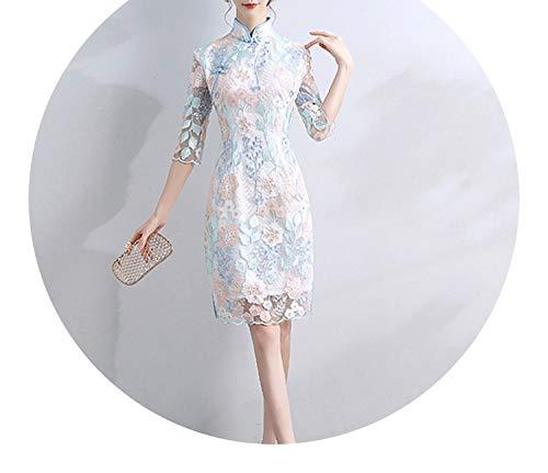 こっそり改革のためチャイナドレスエレガントな女の子のドレス,ヒップスカート,S