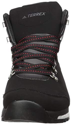 adidas Terrex Pathmaker CP Hiking Boot, Black/Scarlet/Black, 6 D US 2