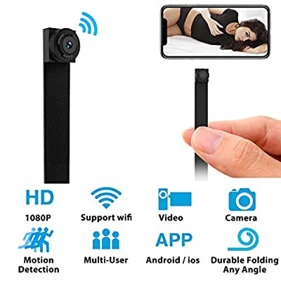 Hidden Spy Camera WiFi Mini Camera 1080P Nanny Cam Home Security Covert Camera with Motion Detection