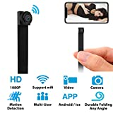 Hidden Spy Camera WiFi Mini Camera 1080P Nanny Cam Home Security Covert Camera with Motion Detection (Upgraded Version)