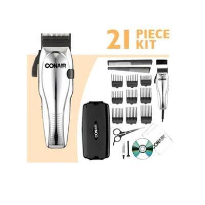 - Conair HC200GB 21 Piece Custom Cut™ Haircut Kit
