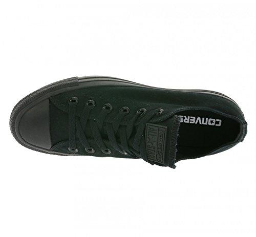 Converse Ctas Mono Ox 015490-70-8 - Zapatillas de tela, Unisex Schwarz