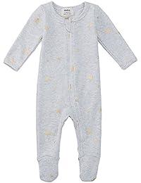 Organic Cotton Baby Boy Girl Zip Front Sleep 'N Play,...