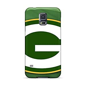 Perfect Hard Cell-phone Case For Samsung Galaxy S5 (oGf19749PquS) Customized Nice Green Bay Packers Series