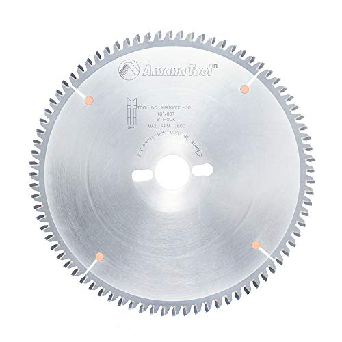 Amana Tool - MB10800-30 Carbide Tipped Double-Face Melamine 10