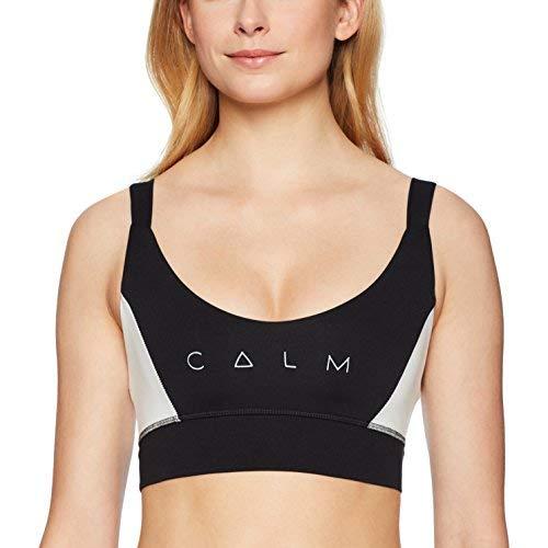 good hYOUman Women's Grace Sports Bra,Black/White Calm,M [並行輸入品]   B07H3LKDHM