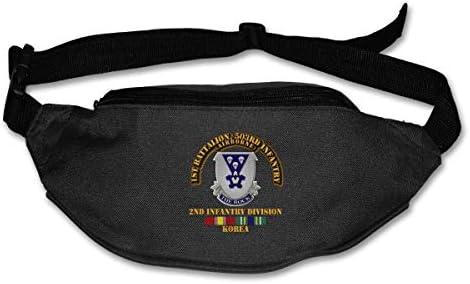 ファーストBn 503rd歩兵ユニセックスアウトドアファニーパックバッグベルトバッグスポーツウエストパック