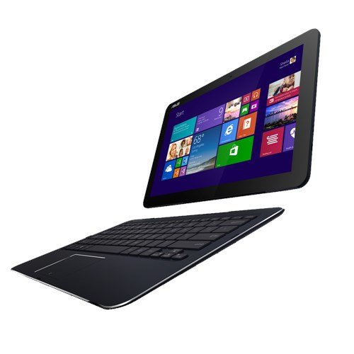 "Asus Transformer book T300CHI- 12.5"" 2-in-1 Detachable 1920 x 1080 (Full HD) Touch-Screen Laptop / Tablet - Intel Core M-5Y10 - 4GB Memory - 128GB Solid State Drive - Windows 10"
