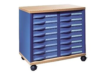 Rexel 1355907 STRATIS Closet, 16 Drawers: Amazon co uk
