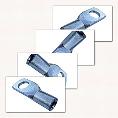 Kabelschuh 10mm2 M12 10x Ringöse Pressöse für Batteriekabel Quetschkabelschuhe