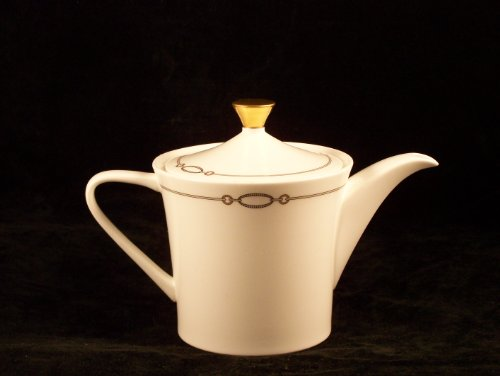 Waterford China Dorado Tea Pot