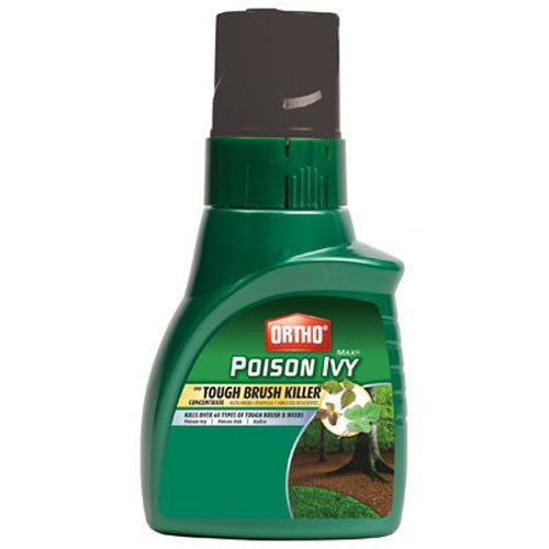 Ortho Max Poison Ivy and Tough Brush Killer Concentrate, 16-Ounce 16 Ounce Tough Brush