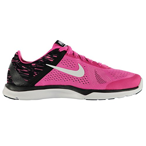 Nike In Season 5Print Training Shoes Damen Pink/Weiß GYM TRAINER SNEAKERS