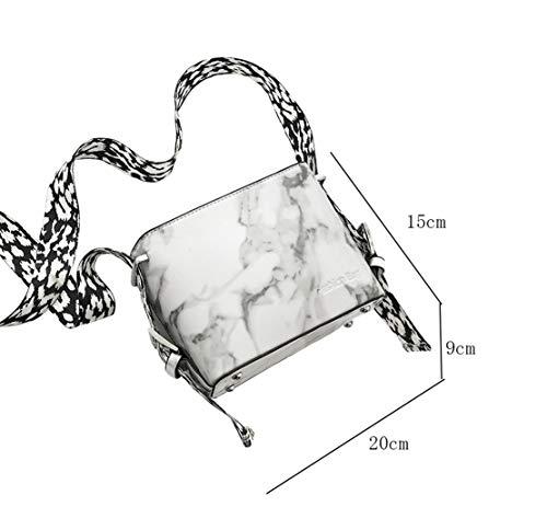 Chica Moda Bags Crossbody Blanco Impermeables Mensajero Hombro Casual Bolsos Cuero Shoulder Morning Elegantes Bolsas Bandolera Pequeño De Shopper Bolsa Hf HqTaA4ZwvS