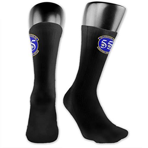 55th Fighter - 55th Fighter Squadron Unisex The-Calf Socks Crew Socks Funny Sock