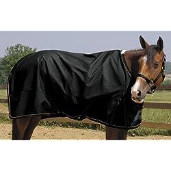 "Weaver Lightweight Horse Turnout Rainsheet - Size:68"" Color:Black"