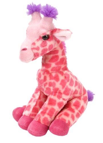 Wild Republic Giraffe Plush, Stuffed Animal, Plush Toy, Gifts For Kids, Cuddlekins, Pink, 12 ()