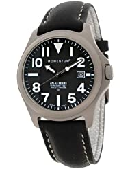 Momentum Mens 1M-SP00B2B Atlas Classic Analog with Titanium dial Watch