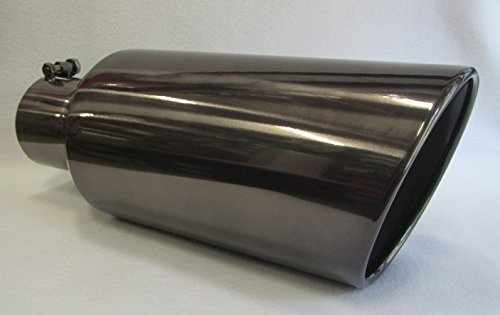 5 tip exhaust black chrome - 8