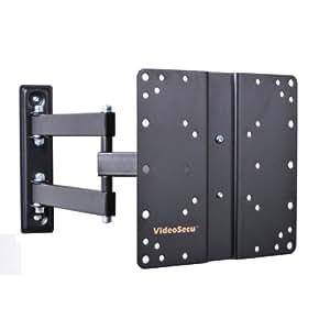 videosecu lcd articulating tv wall mount bracket with full motion tilt swivel arm. Black Bedroom Furniture Sets. Home Design Ideas