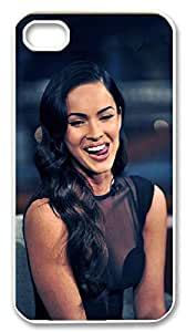 2015 popular Megan Fox Case for iphone4,4s,Eyes. Lips. Nose. Body phone Case for iphone4,4s.